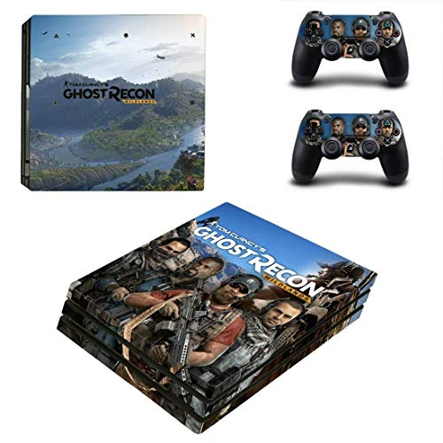TSWEET Tom Clancy's Ghost Recon Wildlands Ps4 Pro Sticker Playstation 4 Skin Sticker For Playstation 4 Ps4 Pro Console & Controller