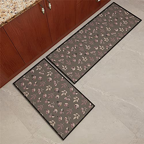 ZAZN Cute Animal Kitchen Rugs, Dirt-Resistant And Wear-Resistant Foot Mats, Bedside Bathroom Mats, Door Mats, Machine Washable