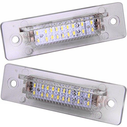 Nummernschildbeleuchtung LED Plafon weiße 964911968Boxster 986Carrera Turbo 996993