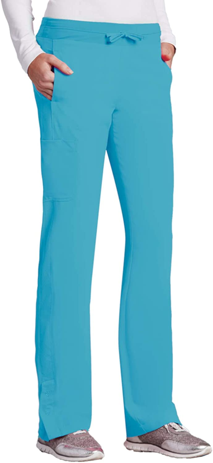 Barco ONE 4Pocket Cargo Track Pant for Women  4Way Stretch Medical Scrub Pant