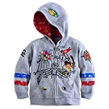Disney Store Jake and The Never Land Pirates Hoodie Jacket Grey Size XXS 3 3T