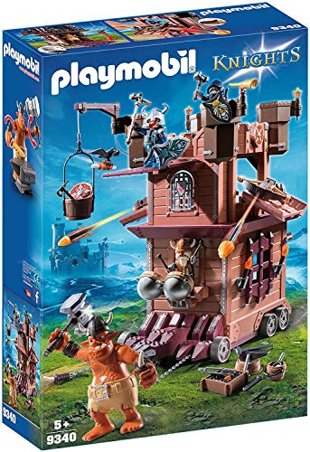 PLAYMOBIL Knights Fortaleza Móvil Enanos