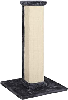 Cat Scratching Post Tree Scratcher Pole Gym Sisal House Furniture Tall Grey 92cm
