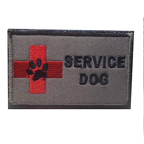 """Hundegeschirr mit Aufschrift """"Service Dog in Training"""", rund, bestickt, Klettverschluss, Klettverschluss Aufnäher-10"""
