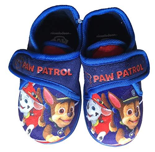Hausschuhe blau, kompatibel mit Paw Patrol (24 EU)