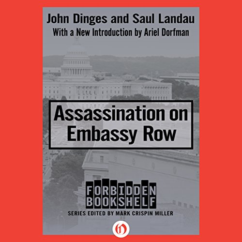 Assassination on Embassy Row audiobook cover art