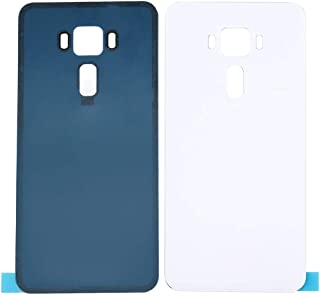 Battery case Jrc 5.5 inch Glass Back Battery Cover for ASUS ZenFone 3 / ZE552KL (Black) Mobile phone accessories (Color : ...