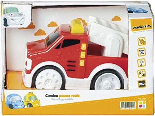Wonderkids Camion Pousse Roule, A1900014, Multicolore