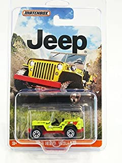 2015 Matchbox Jeep Series 43 Jeep Willys (Yellow) by Matchbox