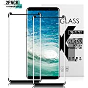 Gozhu [2-Pack] for Galaxy S9 Plus Screen Protector Tempered Glass,[Anti-Fingerprint][No-Bubble][Scratch-Resistant] Glass Screen Protector for Samsung Galaxy S9 Plus