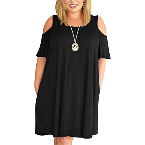 Plus Size Swing Dress: Amazon.com