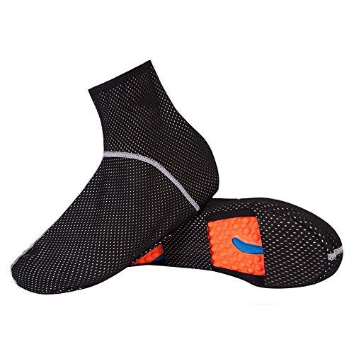 GTE Cubiertas Impermeables para Zapatos de Ciclismo para MTB, Bicicleta de Carretera, Carreras, Cubierta para La Lluvia, Antideslizante, Lavable, Bota de Lluvia para Bicicleta (Size : Medium)