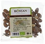 Bionsan Almendra Cruda Ecológica con Piel | 4 Paquetes de 100 gr | Total: 400 gr