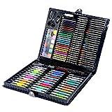 Lisansang Lápices de Colores 150pcs del Cepillo de Pintura Dibujo Niños Herramienta de Colores del Dibujo de lápiz del Artista Kit de Arte de la Pintura del rotulador para Colorear Adultos y Artistas
