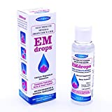 Electrolyte Drops for Water, 600 Servings! Hydration Supplement EMDROPS for Heart Health, Keto Diet, Cramps etc. Liquid Calcium Magnesium Potassium Sugar Free Electrolytes (No Trace Minerals) 1 Bottle