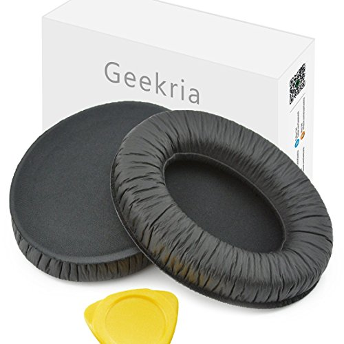 Geekria Ohrpolster für Sennheiser HD418, HD419, HD428, HD429, HD439, HD438, HD448, HD449 Kopfhörer-Ohrpolster, Ohrmuscheln, Ohrpolster, Reparaturteile