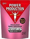 パワープロダクション MAXLOAD(マックスロード) ホエイプロテイン 1セット(3.5kg×2袋) ストロベリー味 江崎グリコ