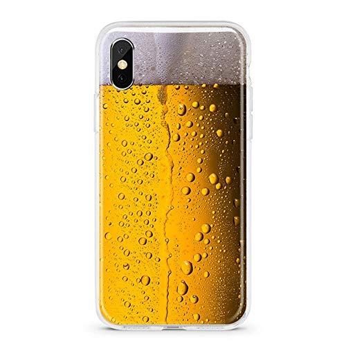 TDG Cover Custodia Morbida Per Telefono In Tpu Divertente Per Iphone X Xs Max Xr 11 Pro 7 8 Plus 6 6S 5 5S Se Bevande Alla Birra Gameboy Schermo Rotto Cover In Silicone Xr Ms001
