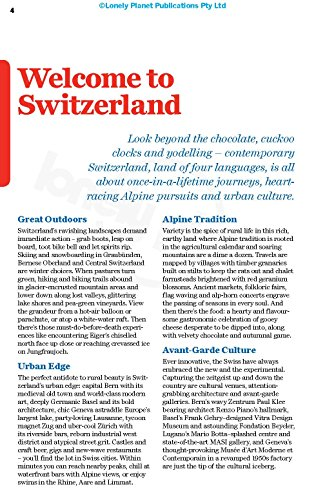 Lonely Planet Switzerland (Country Guide)