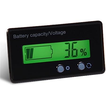 Richer R Lcd Akku Kapazität Voltmeter Universal Led Elektronik
