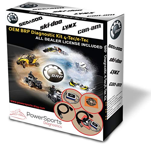 BRP BUDS / BUDS2 MPI-3 Diagnostic Scanner 4TEC/ETEC for SEADOO SKIDOO CANAM LYNX