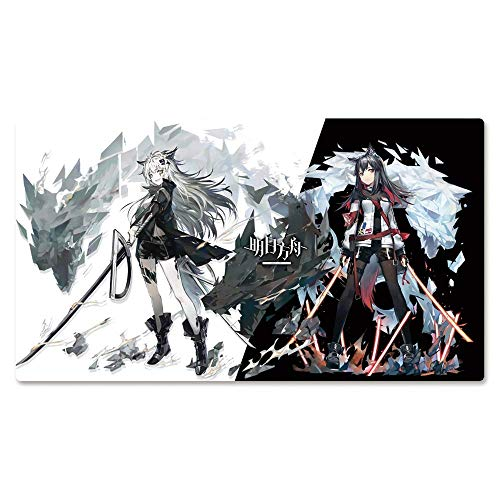 LFLLFLLFL Gaming Mouse Mat, Arknights Lappland Texas, Anime Surface Wear Protection Personalise Durable Large Office Home Mouse Pad, (Color : 700400mm, Size : 3mm)