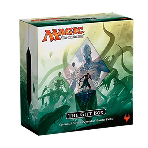 Magic The Gathering MTG 2015 BFZ Battle for Zendikar Box - 5 Booster Packs + Extras