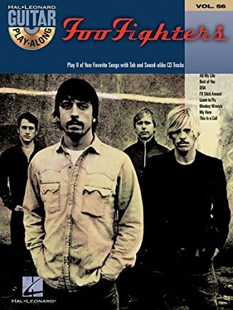 Foo Fighters: Guitar Play-Along Volume 56 by Foo Fighters(2006-05-01)