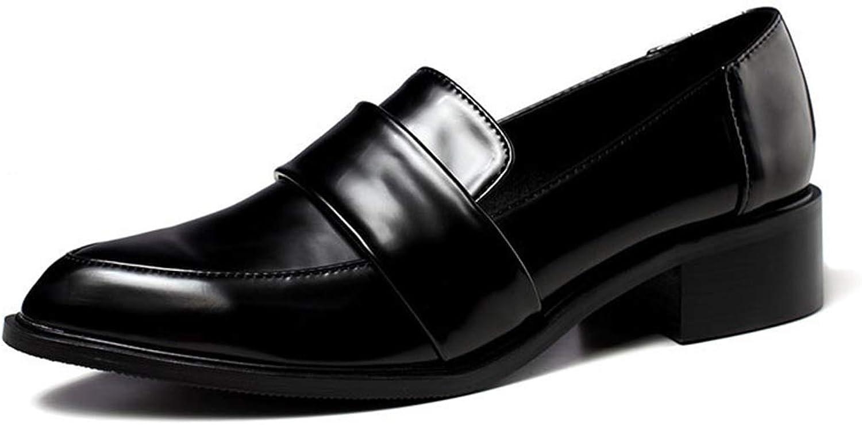 TinaFan Women Dress shoes Oxford shoes Formal Work Footwear Flats Slip-on Retro shoes