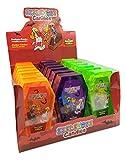 Skeletons Candies Puzzle caramelo comprimido - Caja expositora con 18 ataúdes