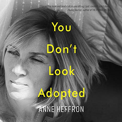 You Don't Look Adopted audiobook cover art