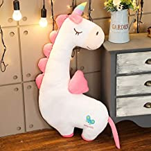 TREGIA Creative I Soft Unicorn Dinosaur Flamingo Doll Stuffed Animals Lazy Sleeping Pillow Toys for Cute Girl Lover Birthday Gifts Toddler Must Haves 5 Year Old Boy Gifts Favourite Movie