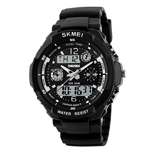 Reloj de hombre de Skmei resistente al agua 50m ,reloj deportivo para el...