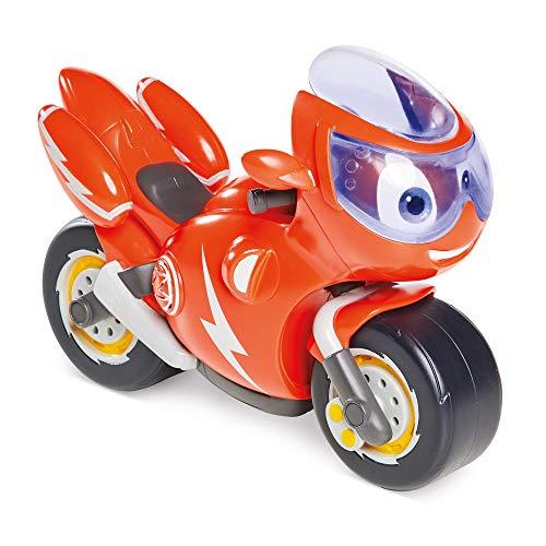 Ricky Zoom Licht & Sound Ricky, das riesige 7-Zoll Motorrad mit 8 verschiedenen Sounds und Sprache Plus einem leuchtenden Rettungsvisier perfekte Abenteuer für Kinder im Vorschulalter!
