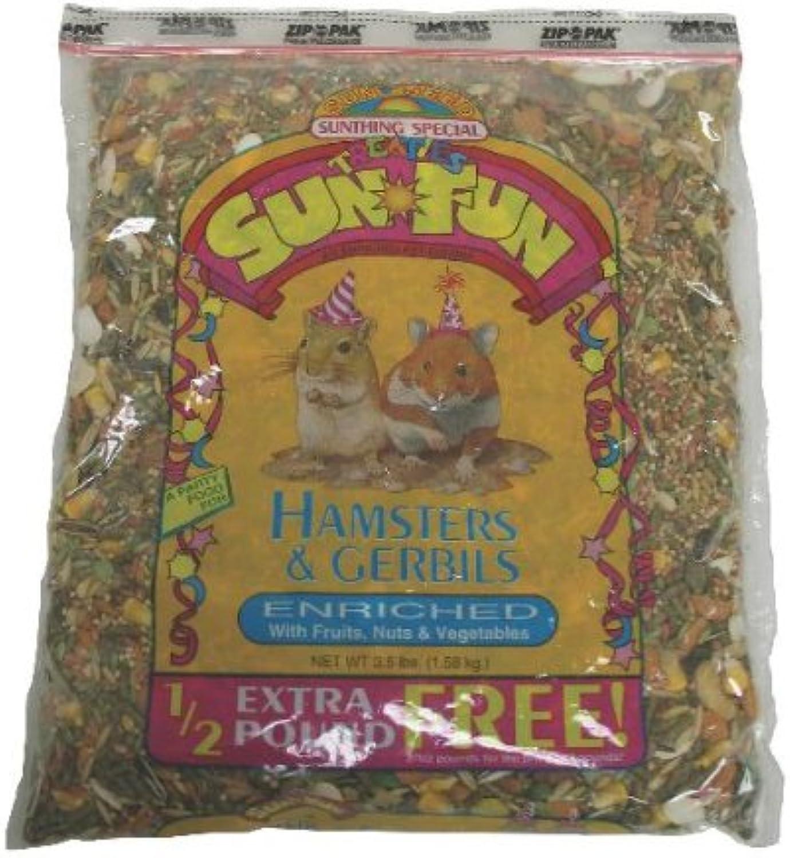 suministramos lo mejor Hamster gerbil gerbil gerbil Sun Fun 3.5lb (6pc)  ahorra hasta un 30-50% de descuento