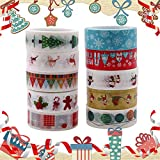BESTZY - 10 cintas decorativas para enmascarar, cinta adhesiva Washi para manualidades, diseño de libro, decoración de pared