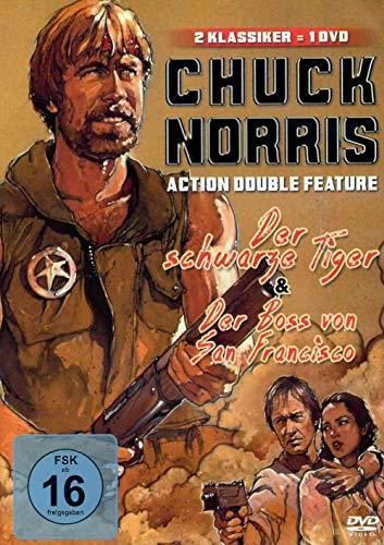 Chuck Norris Action Double Feature | Der schwarze Tiger | Der Boss von San Francisco