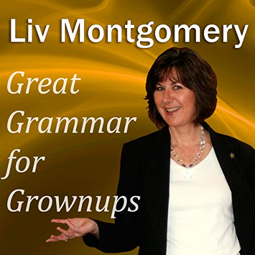 Great Grammar for Grownups audiobook cover art
