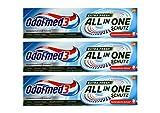 3x Odol-Med 3 Zahnpasta All in One Extra Frisch, 75 ml Zuckersäuren-Schutz