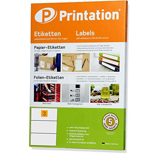 Étiquettes universelles 210 x 99 mm blanc 300 étiquettes adhésives 100 feuilles a4 210 x 3 x 1 99 autocollant