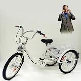 MINUS ONE – Triciclo para Adultos – Triciclo con 3 Ruedas – Bicicleta para...