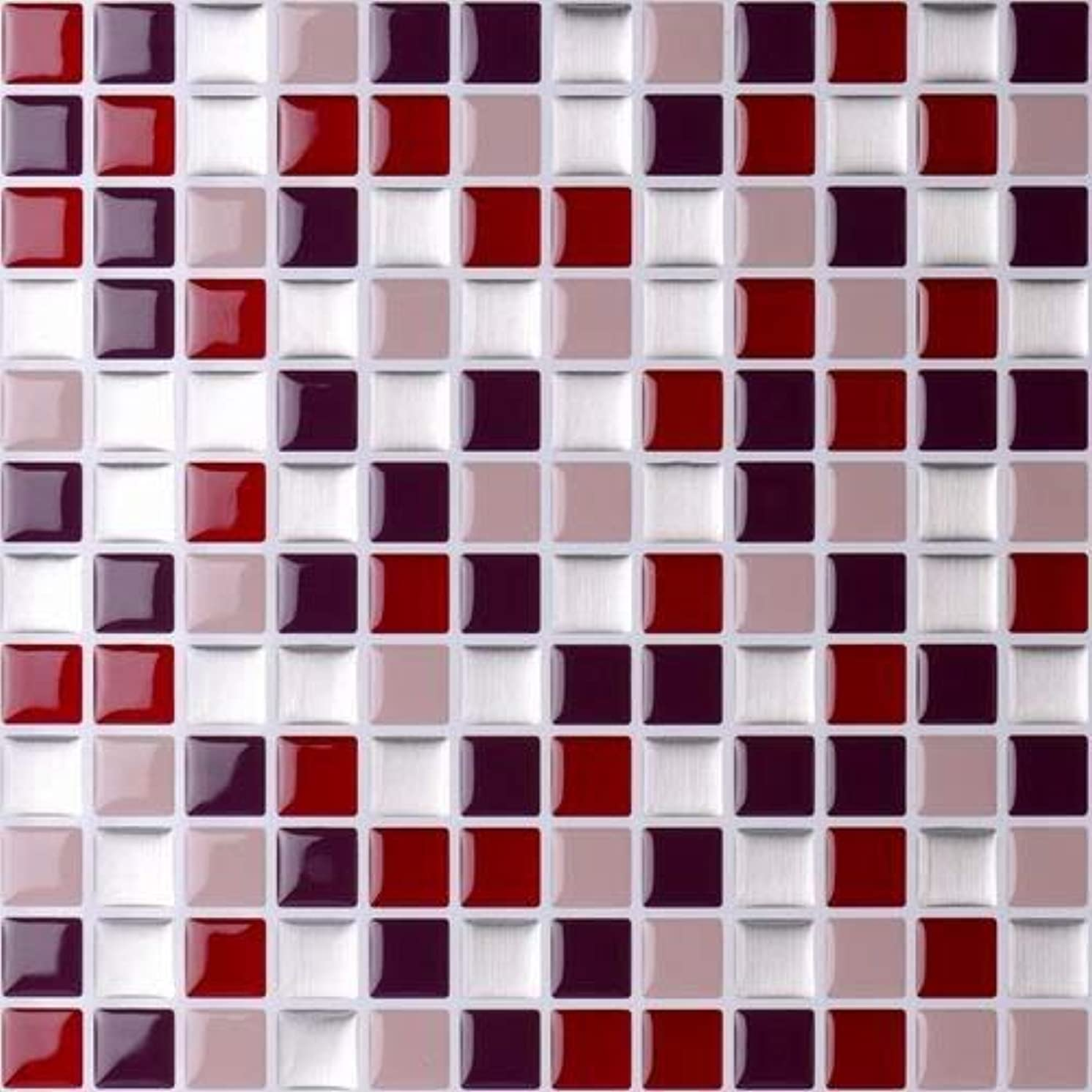 Vamos Tile Premium Anti Mold Peel and Stick Tile Backsplash,Self Adhesive Wall Tiles for Kitchen & Bathroom-10 x 9