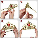 Immagine 1 vicloon accessori principessa bella corona