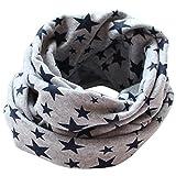 Bluelans® Loop Schal Rundschal Schlauchschal Weicher Winter Schal Kinderschal Loopschal, Grau, One Size