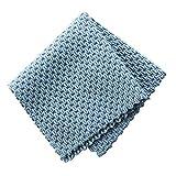 LCM Toalla de Cocina antigrasa wipping Rags eficiente Absorbente estupendo de Limpieza de Microfibra paño de Limpieza de la Cocina (Color : Blue)