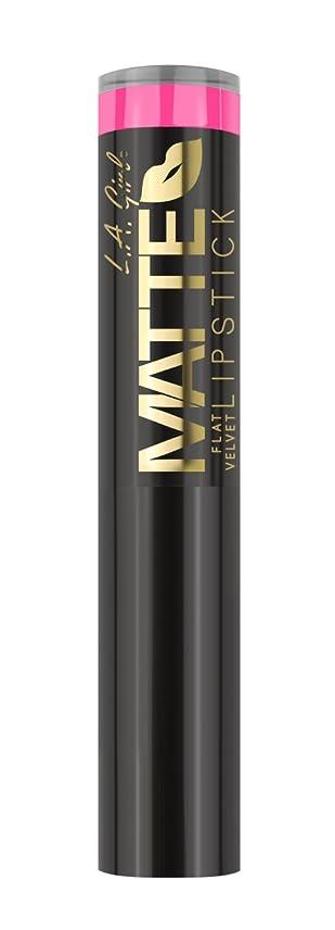 シャツ余分な古代L.A. GIRL Matte Flat Velvet Lipstick Arm Candy (並行輸入品)