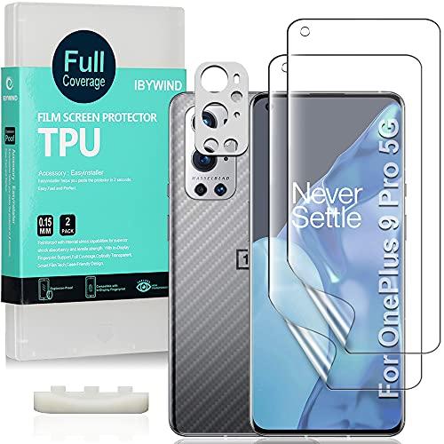 Ibywind Protector de Pantalla para OnePlus 9 Pro 5G(6.7