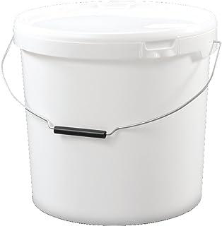 Trevendo 20 Liter Eimer mit Deckel, lebensmittelecht