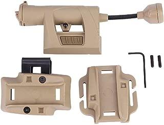 Tbest Military Helmet Light,Durable Helmet Light Illumination Tool for Outdoor Hunting Military(Sand Color)