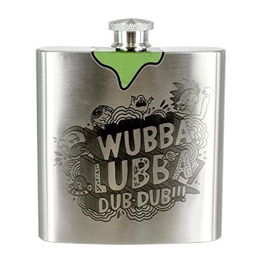 Paladone Rick and Morty Flachmann Wubba Lubba